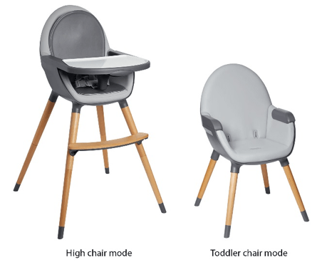 high chair recall glider rocker and ottoman metal by child care skip hop recalls convertible chairs due to fall hazard cpsc gov a view of the tuo