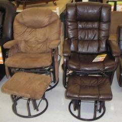 Glider Rocking Chair Big Lots Pad Sets Recalls Recliners With Ottomans Due To Entrapment And Finger Crushing Hazards