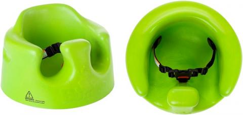baby boppy chair recall animal skin covers seats recalled for repair by bumbo international due to fall seat with restraint belt side view and top