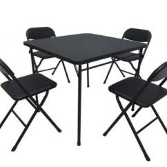 Cosco Card Table And Chairs Recall Costco Swivel Chair Walmart Recalls Sets Cpsc Gov Mainstays Five Piece Set