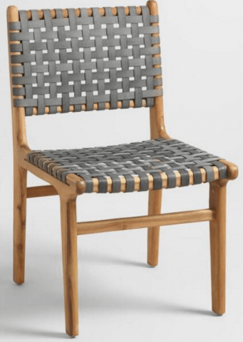 cost plus world market chairs bedroom hanging chair recalls girona outdoor dining due to sku number 536033 grey strap