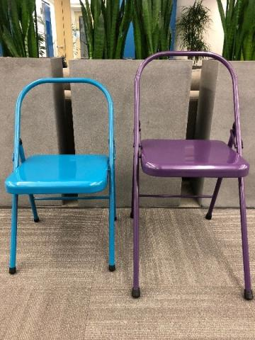 folding metal yoga chair caning seat weaving supplies spiraledge recalls backless chairs due to fall hazard recall recalled everyday left and the tall