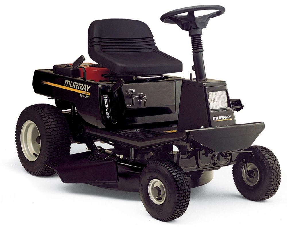 medium resolution of picture of recalled rear engine riding mower