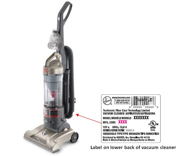 Hoover Recalls Upright Vacuum Cleaners Due to Fire and