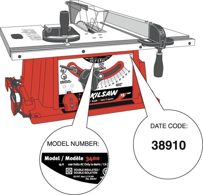 Skilsaw Model 3400 Fence