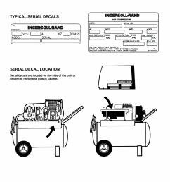 picture of recalled air compressor decals [ 2670 x 3455 Pixel ]