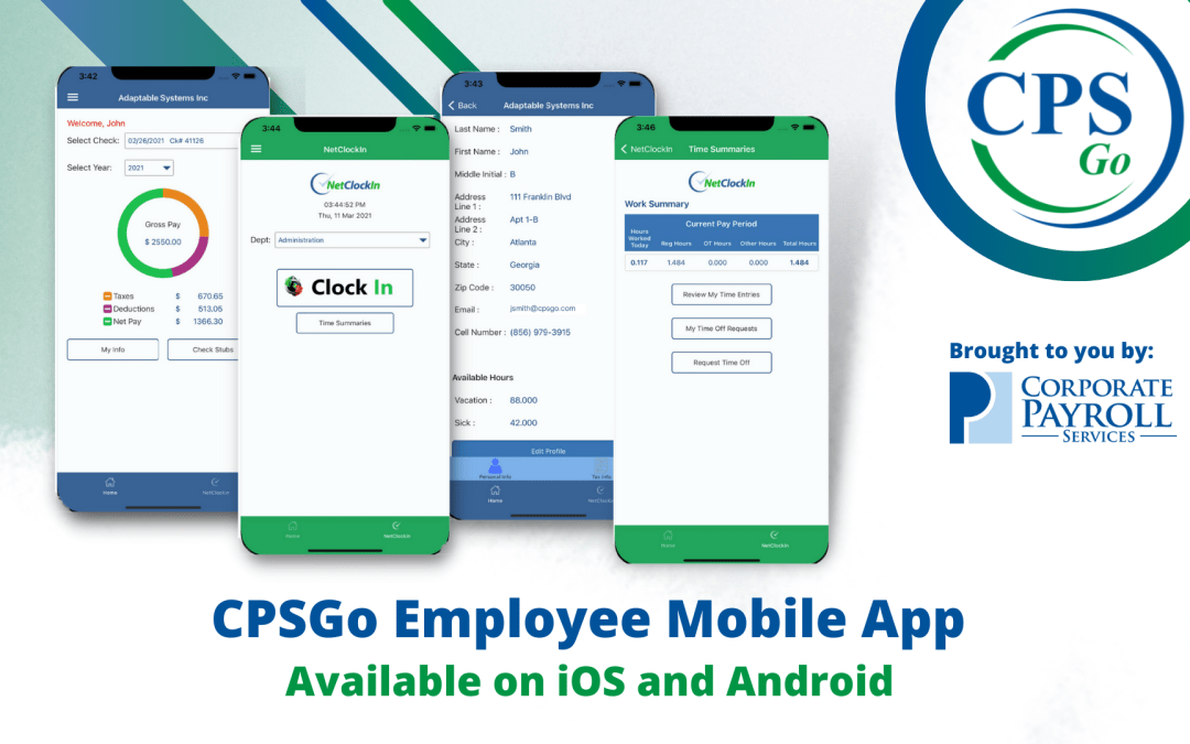 CPSGo Employee- A Convenient Mobile App for your Employees