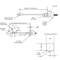 Wiring Diagram Direct Tv Hook Up Bmw E30 Radio Art Carr's 700r4 Cable Adjustment Guide From Cpttransmission.com