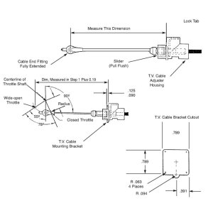 Art Carr's 700r4 tv cable adjustment guide from CPTtransmission