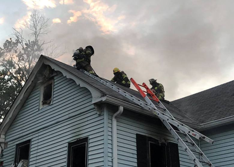 Truck and Chiefs run 55 House