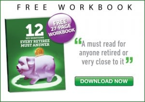 Free retirement financial planning workbook