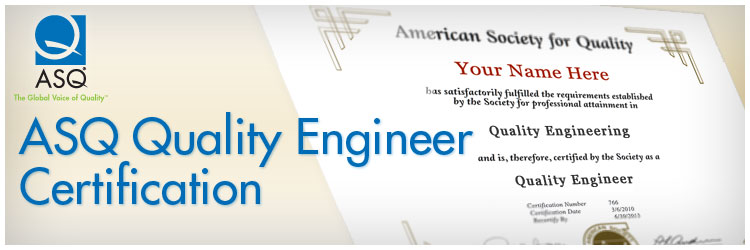 Become a CQE Certified Quality Engineer