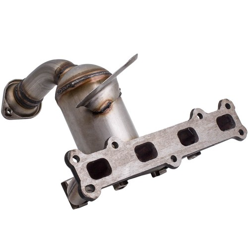 small resolution of fit for jeep patriot 2 4l 2007 2013 exhaust manifold with catalytic converter