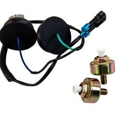 dual knock sensors and wire harness for gm ls1 lq9 ls6 4 8l 5 3l 5 7 [ 1000 x 1000 Pixel ]