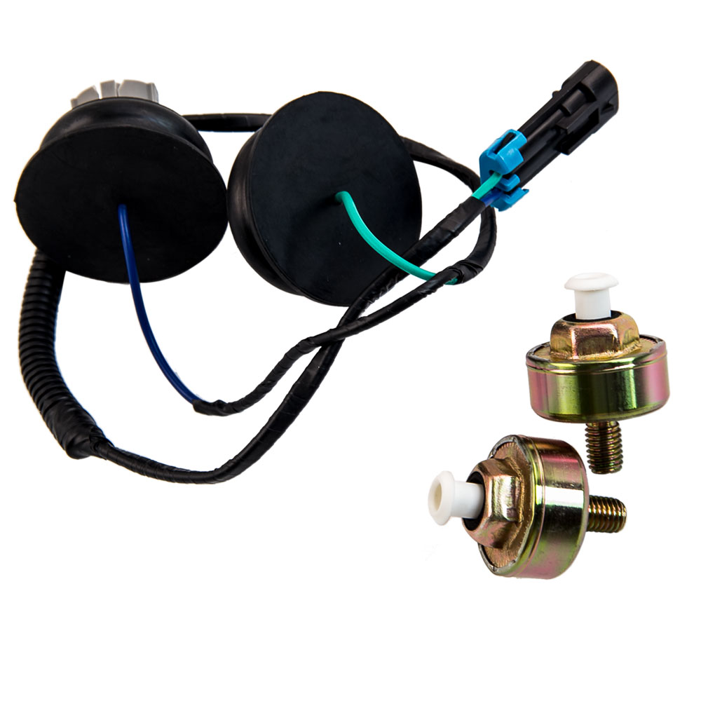 hight resolution of dual knock sensors and wire harness for gm ls1 lq9 ls6 4 8l 5 3l 5 7