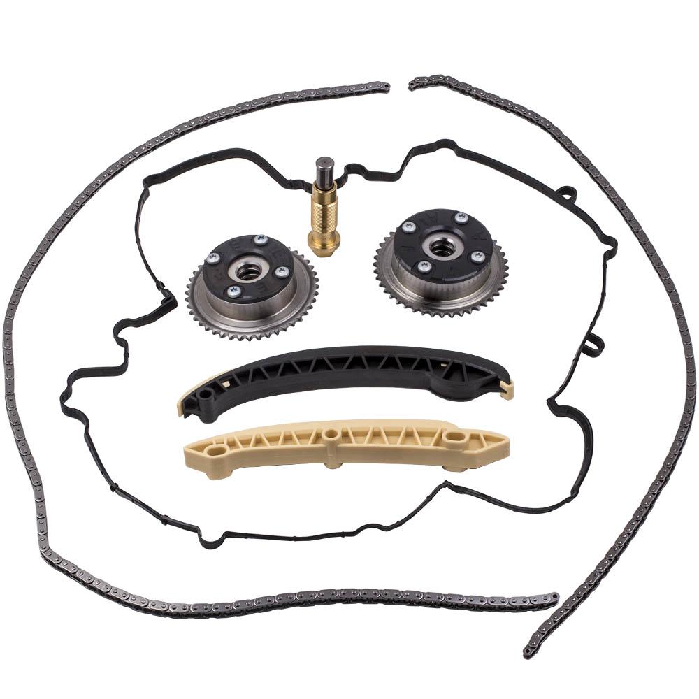 Cam Adjusters Timing Chain Kit Kompressor for Mercedes