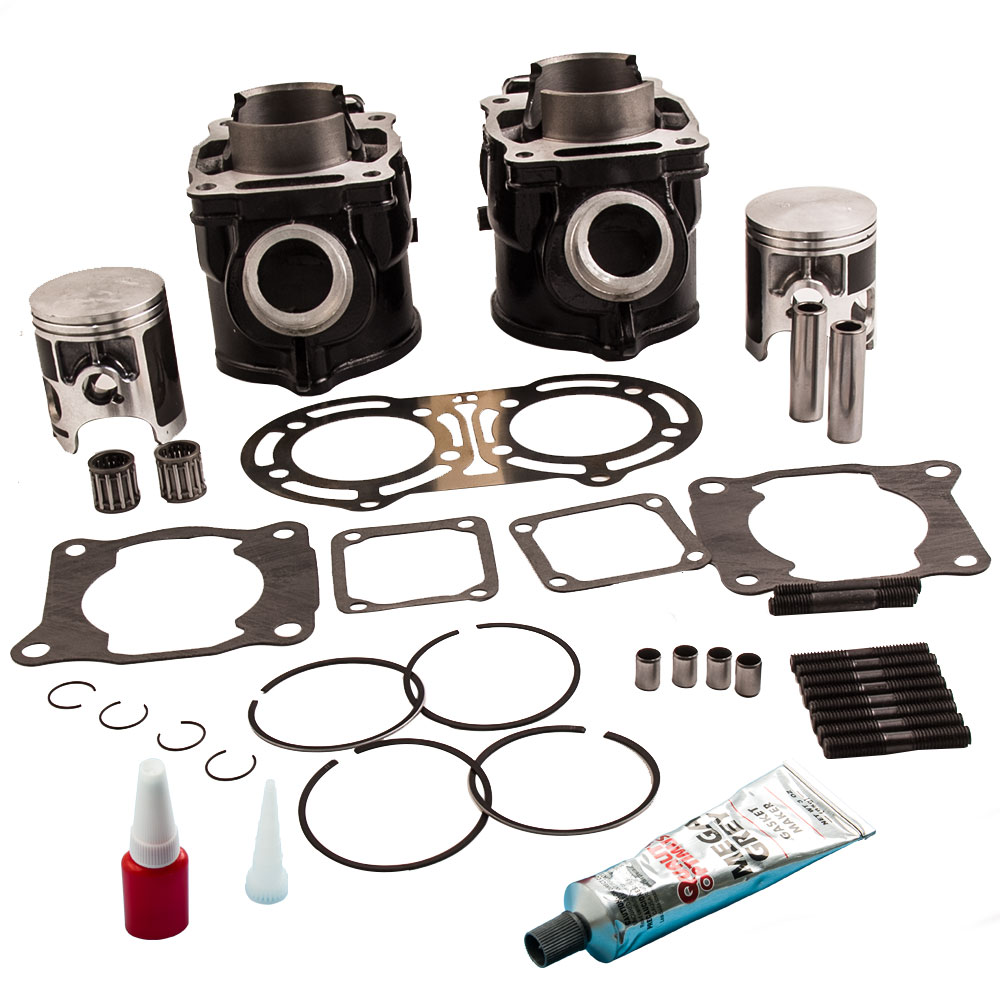 hight resolution of cylinder piston gasket kit for yamaha banshee 350 87 06 top end 64 00mm x 54 00mm
