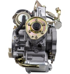 new carburetor carb for nissan datsun truck 1985 2 4l z24 engine 16010 21g61 [ 1000 x 1000 Pixel ]