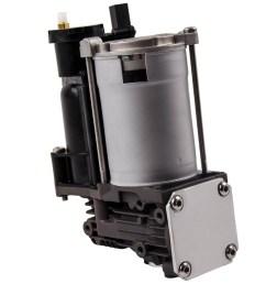 for bmw x5 e70 x6 e71 e72 air suspension compressor pump w relay 37206859714 37226785506 [ 1000 x 1000 Pixel ]