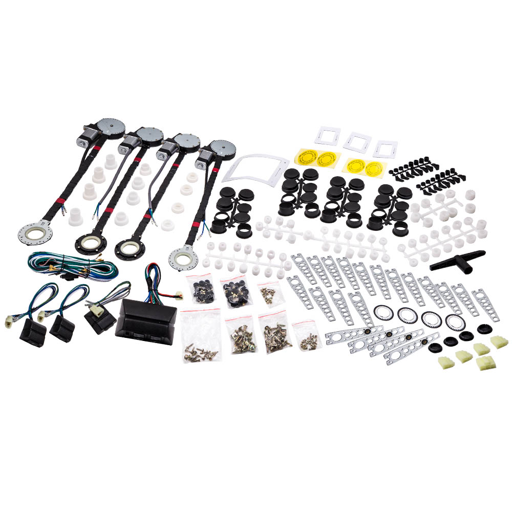 Power Window Conversion Kit For Universal Use 4 Door Roll