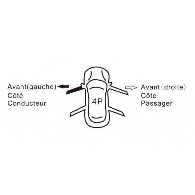 Mecanisme leve vitre électrique,avant gauche,AUDI A4/S4