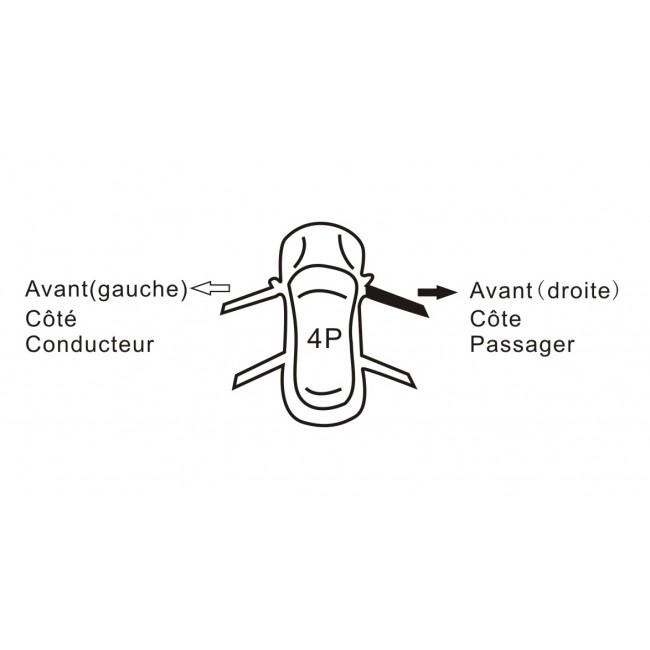 Mecanisme leve vitre électrique,avant droite,Seat Cordoba
