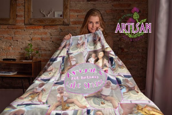 mock blanket