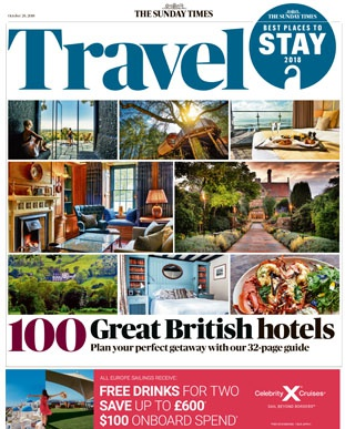 Best 100 British hotels 2018 logo
