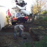 Widening theBuilding the disabled toilet