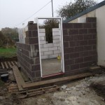 Disabled toilet foundations