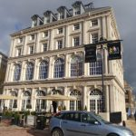 THE QUEEN MOTHER SQUARE, POUNDBURY AT DORCHESTER
