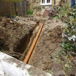 SORTING OUT THE DRAINAGE