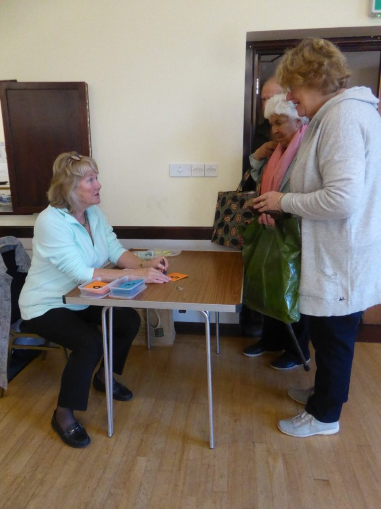 "THE ""ANTIQUES ROADSHOW"" AT LODERS VILLAGE HALL"