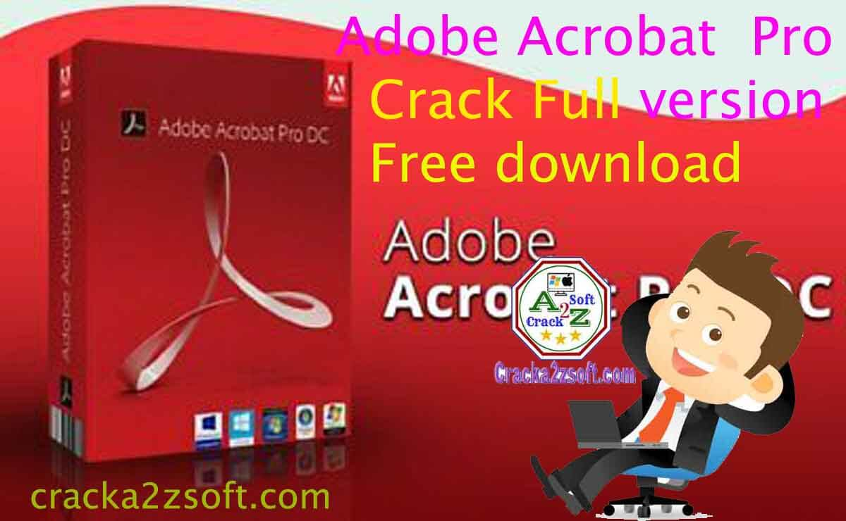 Crack adobe acrobat dc 2020