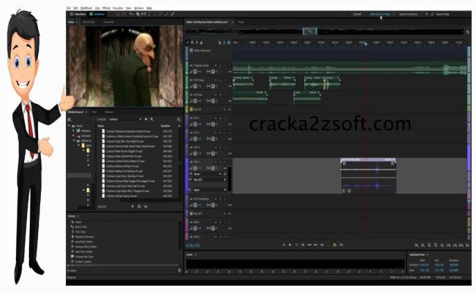 Adobe Audition cc 2021 screen