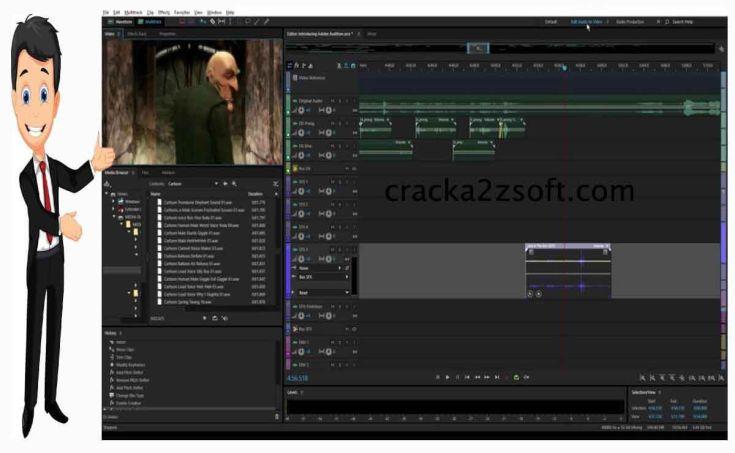 Adobe Audition cc screen