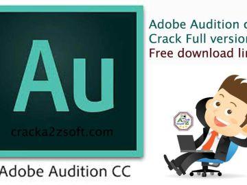 Adobe Audition pro cc 2021 crack free download