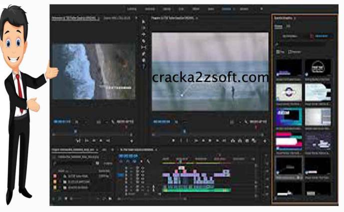 Adobe Premiere Pro cc 2021 full crack screen