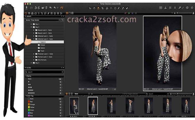 Capture One Pro screen