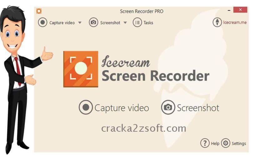 IceCream Screen Recorder Pro screen