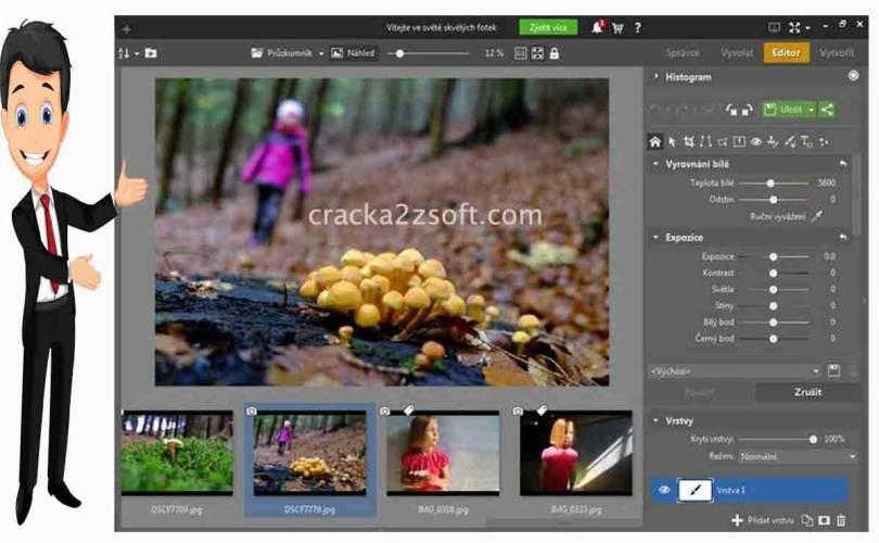 Zoner Photo Studio X screen