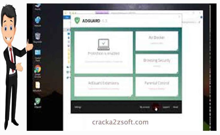 adguard premium screen