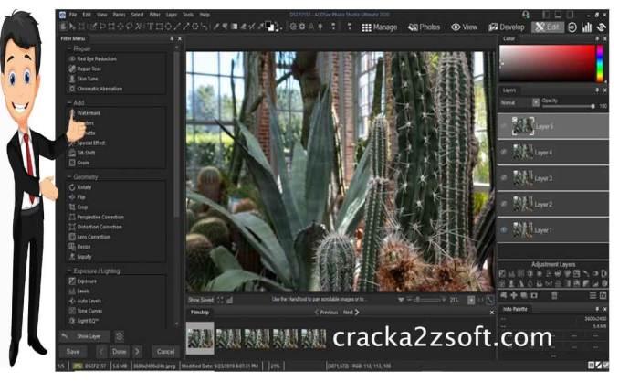 ACDSee Photo Studio Ultimate 2020 screen