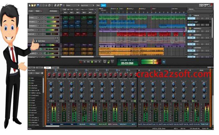 Acoustica Mixcraft Pro Studio Crack Screenshot