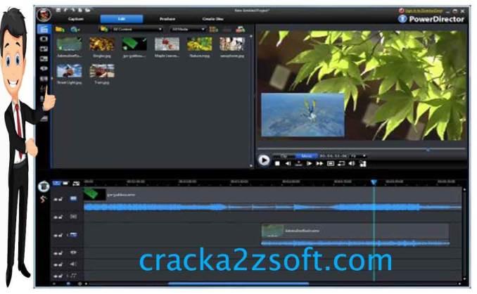 CyberLink PowerDirector Ultimate crack screenshot