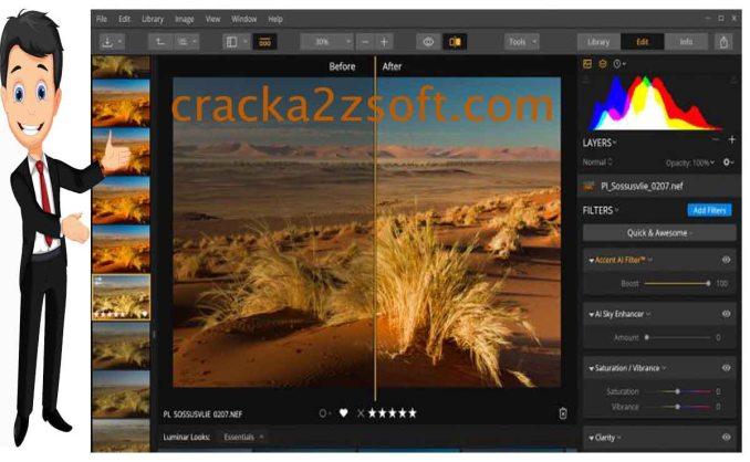 Luminar 4 Crack Screenshot