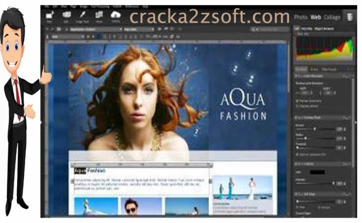 StudioLine Photo Pro screen