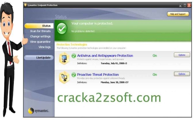 Symantec Endpoint Protection crack screenshot