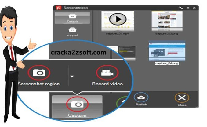 Screenpresso Pro crack screenshot
