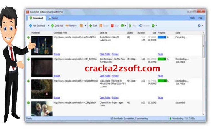 Tomabo MP4 Downloader Pro Crack screenshot